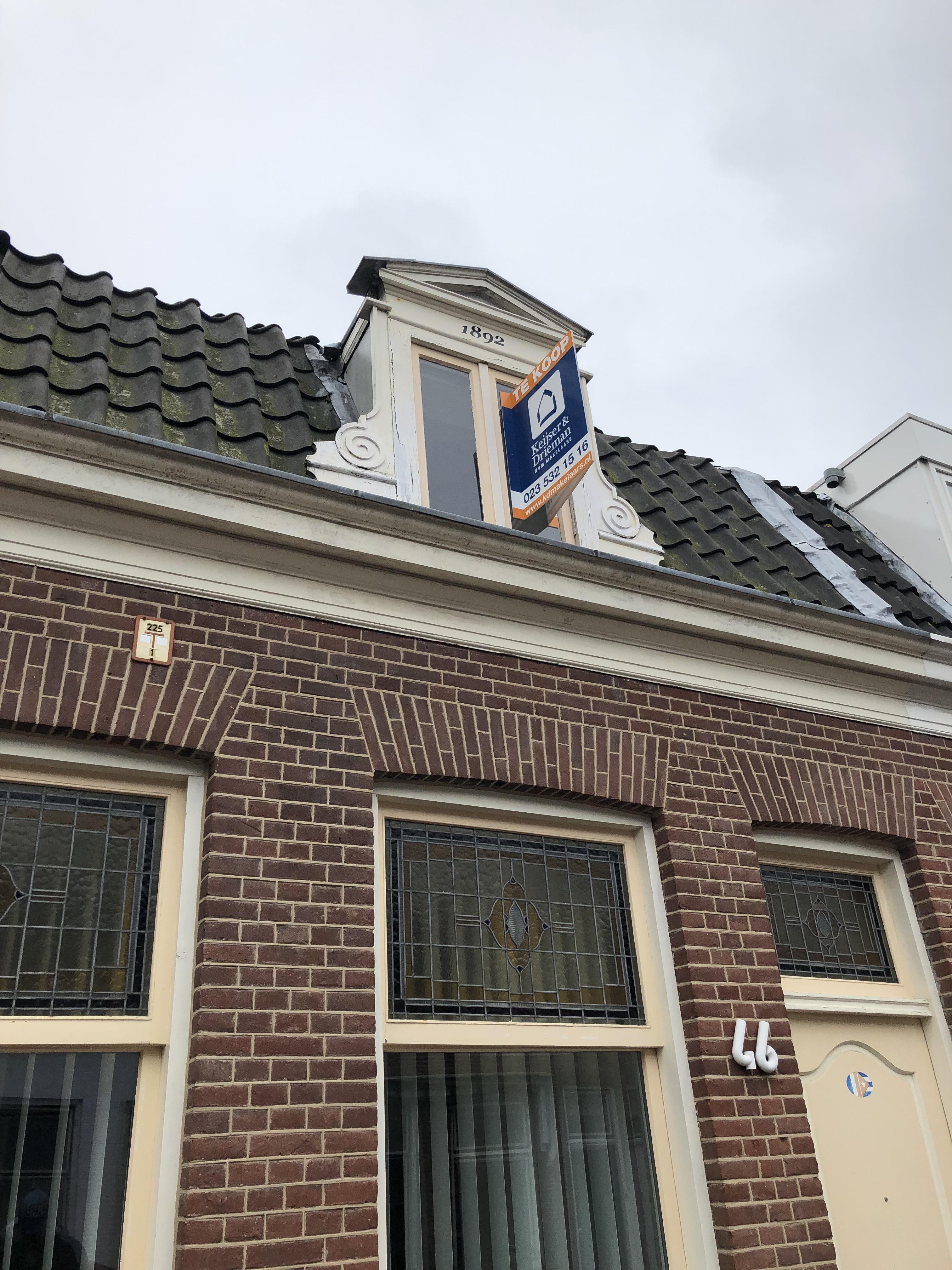 Barendsestraat 46 te Haarlem